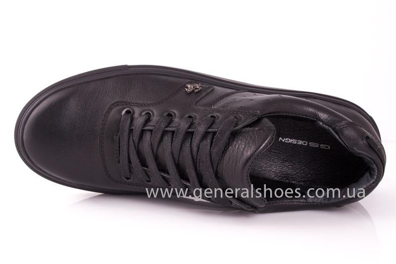 Мужские кожаные кроссовки GS L115 фото 5