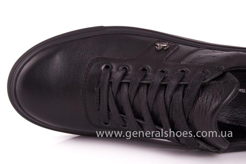 Мужские кожаные кроссовки GS L115 фото 6