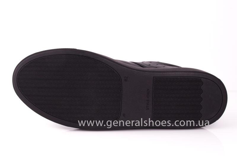 Мужские кожаные кроссовки GS L115 фото 7