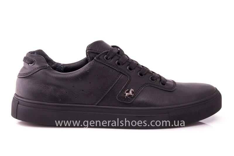 Мужские кожаные кроссовки GS L115 фото 2