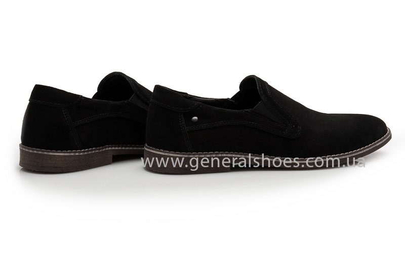 Мужские туфли замшевые Camp 10876 черный фото 2