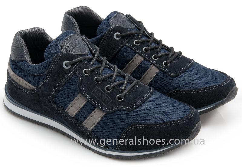 Мужские замшевые кроссовки Camp 10929 blue фото 1