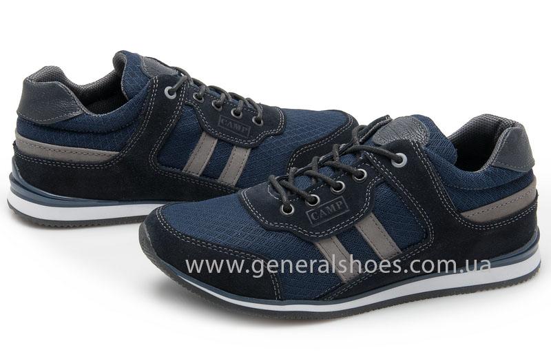 Мужские замшевые кроссовки Camp 10929 blue фото 2