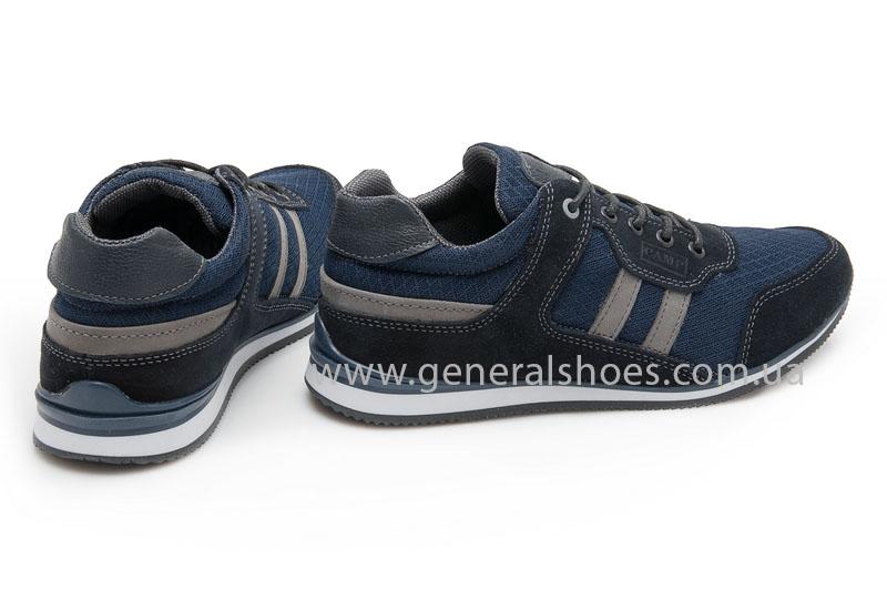 Мужские замшевые кроссовки Camp 10929 blue фото 3