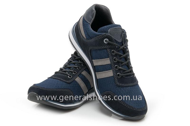 Мужские замшевые кроссовки Camp 10929 blue фото 4