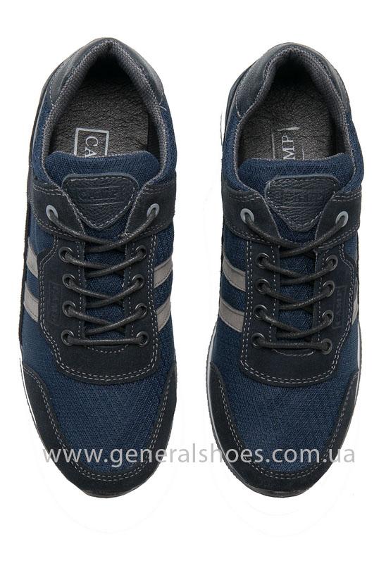 Мужские замшевые кроссовки Camp 10929 blue фото 5