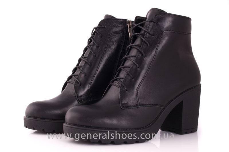 Ботинки женские кожа GL 6 черный фото 6