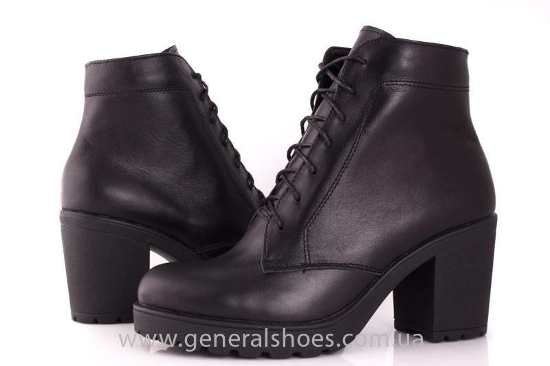 Ботинки женские кожа GL 6 черный фото 7