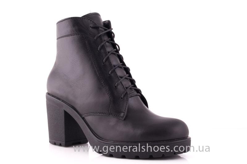 Ботинки женские кожа GL 6 черный фото 1