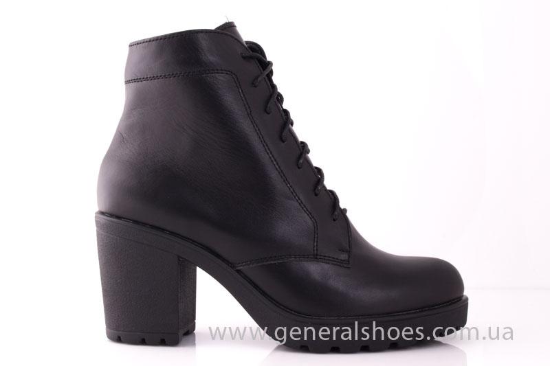 Ботинки женские кожа GL 6 черный фото 2