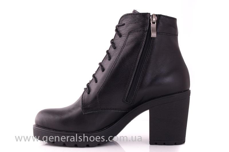 Ботинки женские кожа GL 6 черный фото 4