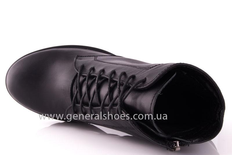 Ботинки женские кожа GL 6 черный фото 5