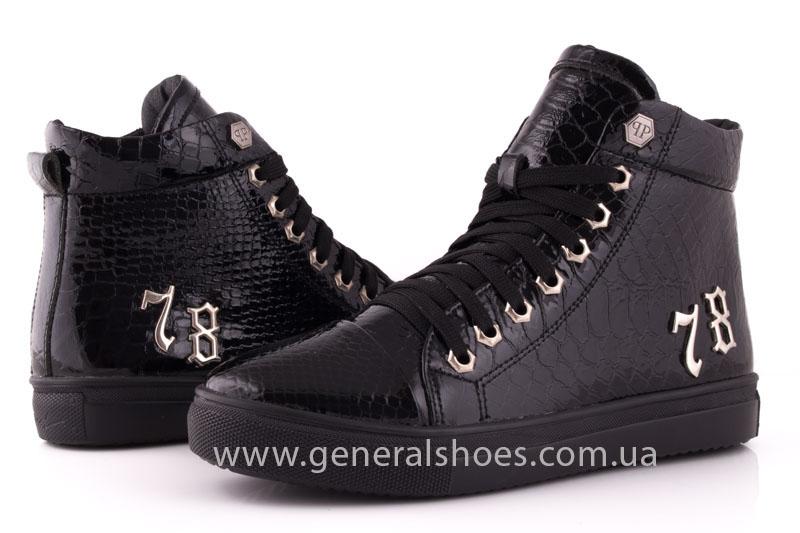 Ботинки женские кожаные GL 8 черный фото 8
