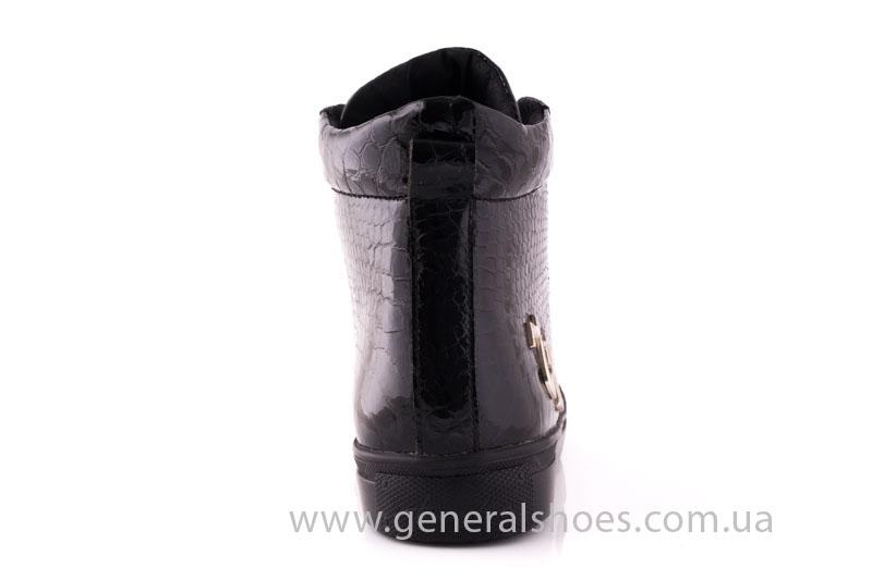 Ботинки женские кожаные GL 8 черный фото 4