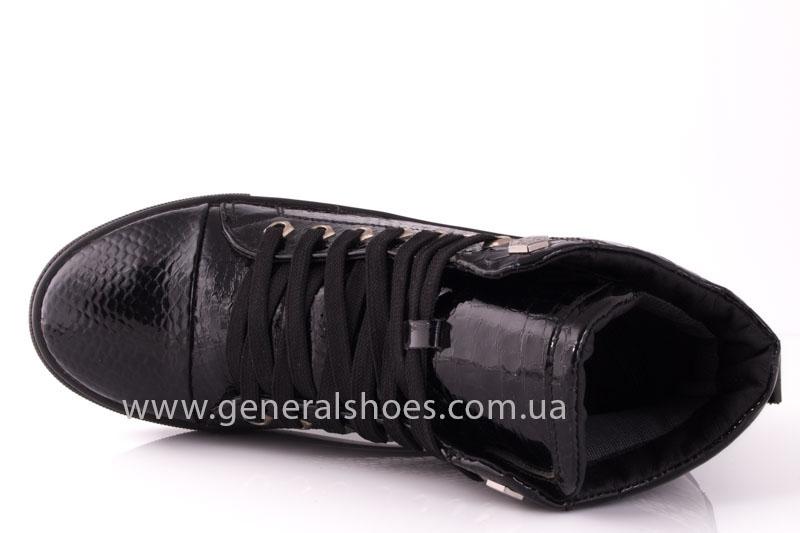 Ботинки женские кожаные GL 8 черный фото 6