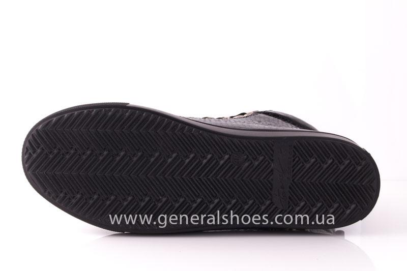 Ботинки женские кожаные GL 8 черный фото 9