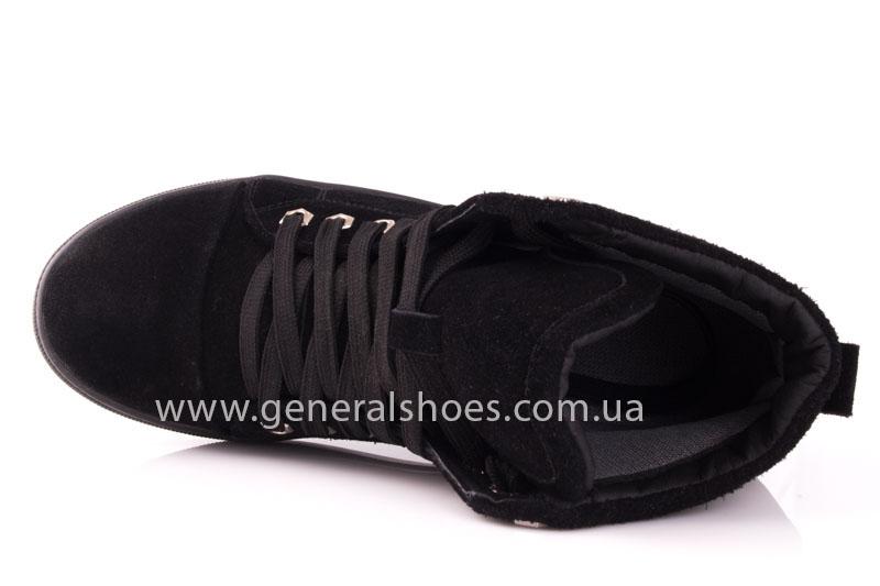 Кеды женские высокие GL 10 черный фото 6