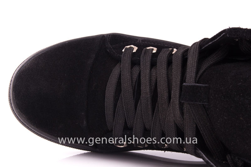 Кеды женские высокие GL 10 черный фото 7