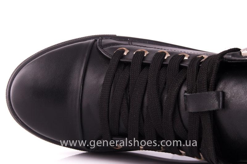 Кеды женские высокие GL 11 черный фото 7
