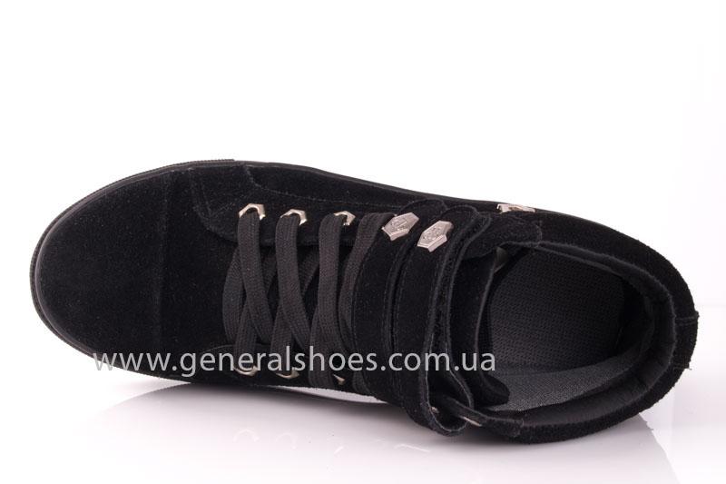 Кеды женские высокие GL 4 черный фото 6