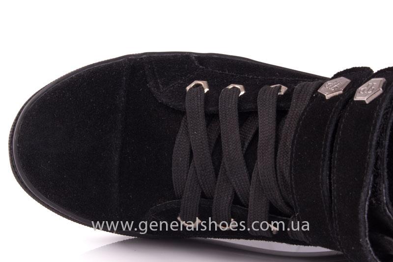 Кеды женские высокие GL 4 черный фото 7