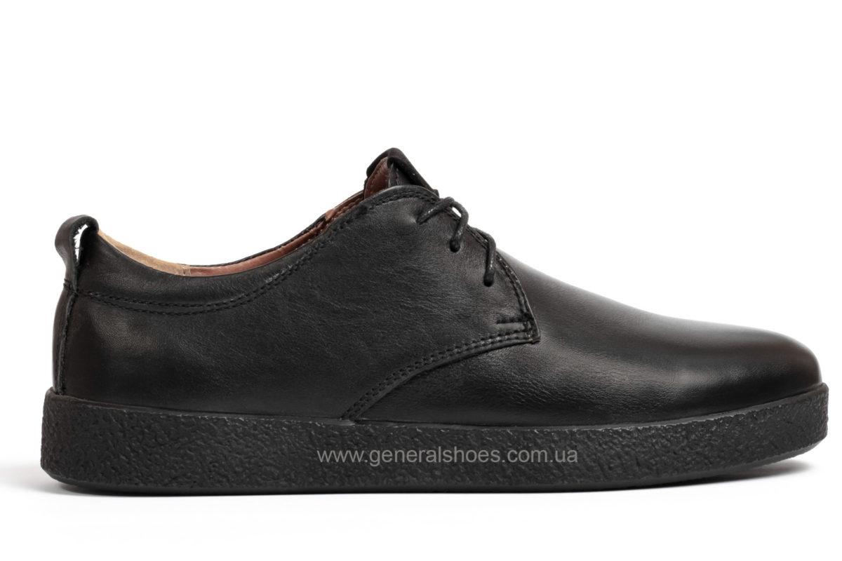 Туфли мужские кожаные Ed Ge Koss черные фото 1