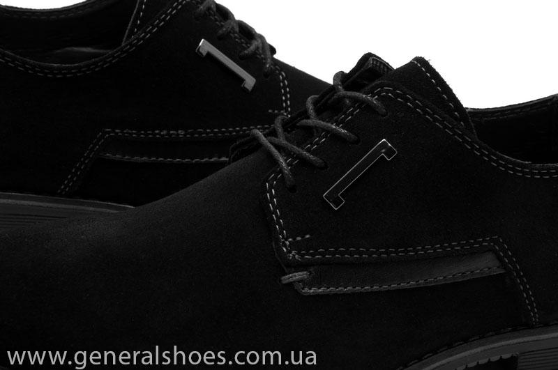 Туфли мужские замша Camp 10883 черный фото 6