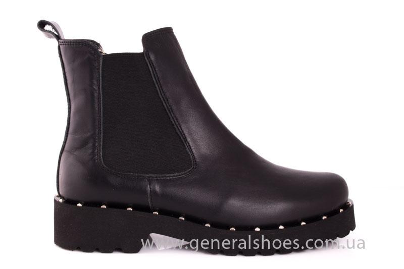 Зимние женские ботинки 1020 черный фото 2