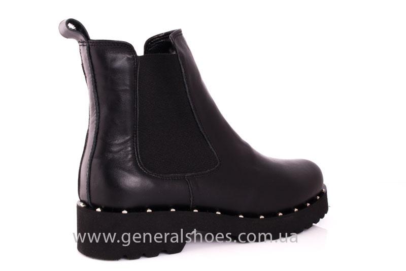 Зимние женские ботинки 1020 черный фото 3