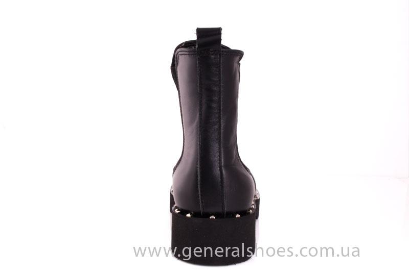 Зимние женские ботинки 1020 черный фото 4