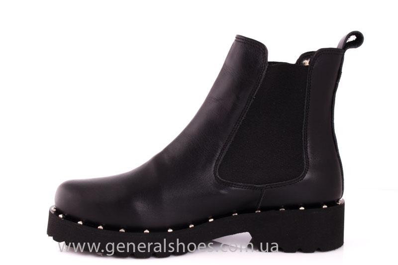 Зимние женские ботинки 1020 черный фото 5