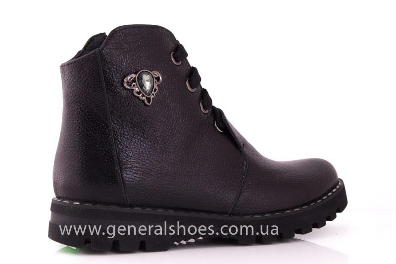 Женские ботинки К 12331ф кожа фото 3