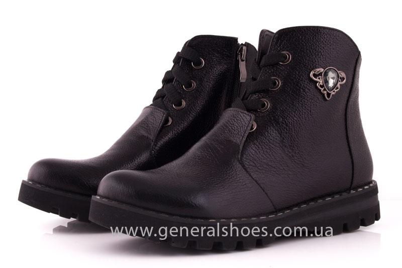 Женские ботинки К 12331ф кожа фото 7