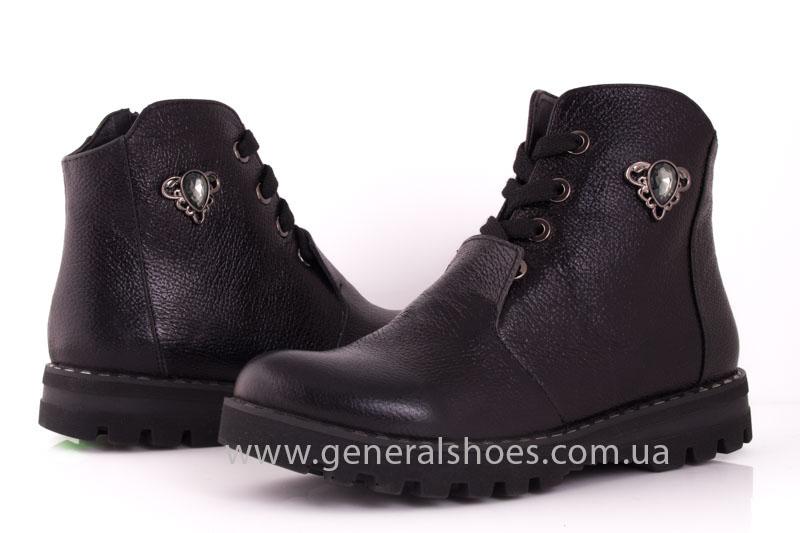 Женские ботинки К 12331ф кожа фото 8