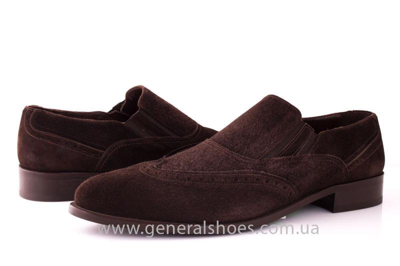 Замшевые туфли броги AVVA фото 8