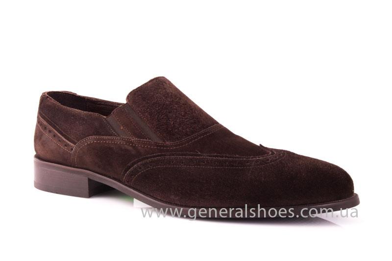 Замшевые туфли броги AVVA фото 1