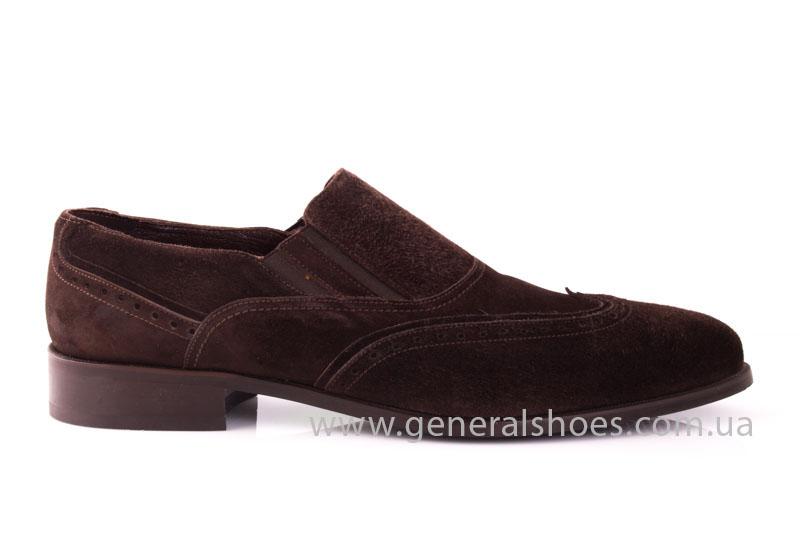 Замшевые туфли броги AVVA фото 2