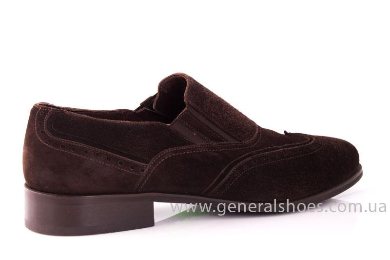 Замшевые туфли броги AVVA фото 3