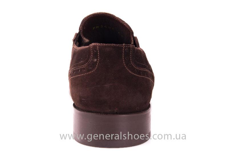 Замшевые туфли броги AVVA фото 4