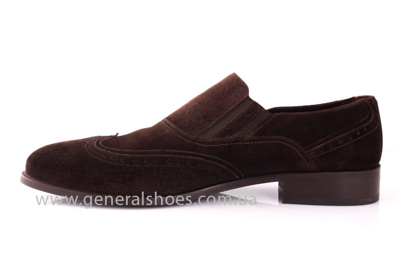 Замшевые туфли броги AVVA фото 5