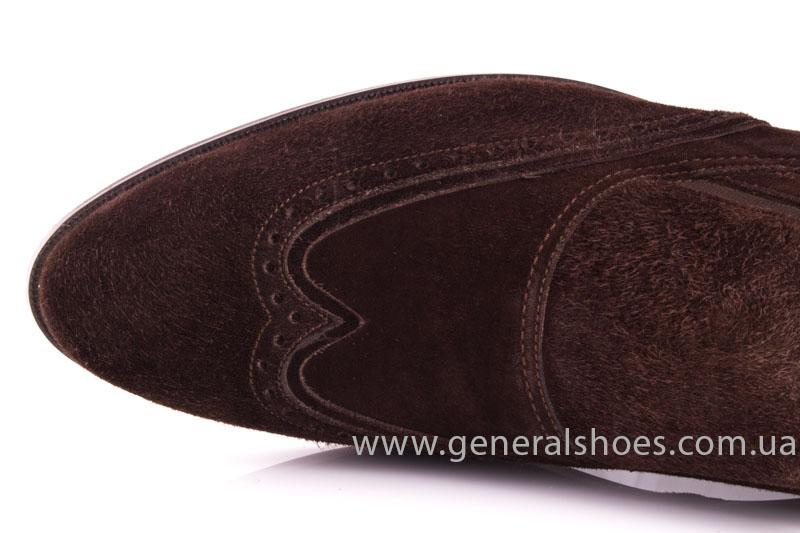 Замшевые туфли броги AVVA фото 7