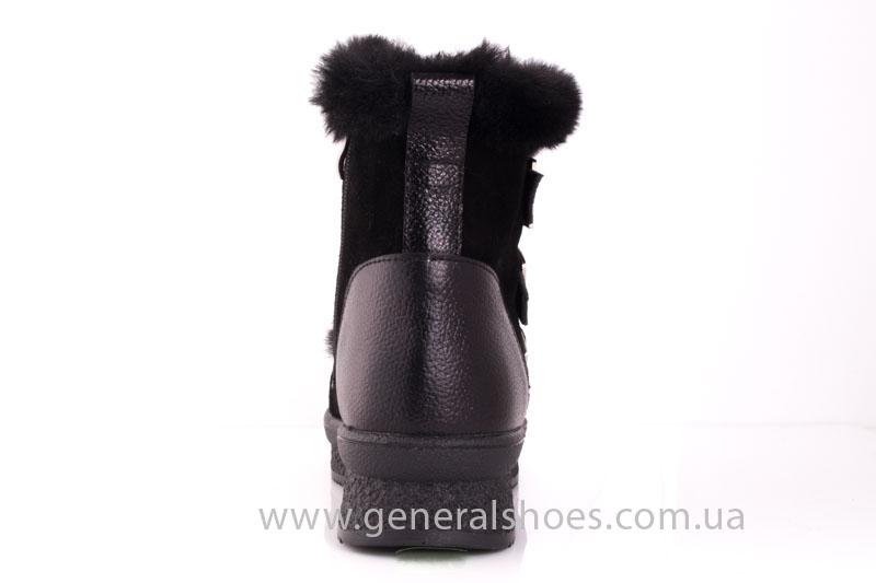 Зимние ботинки женские D 15 221 черный фото 4
