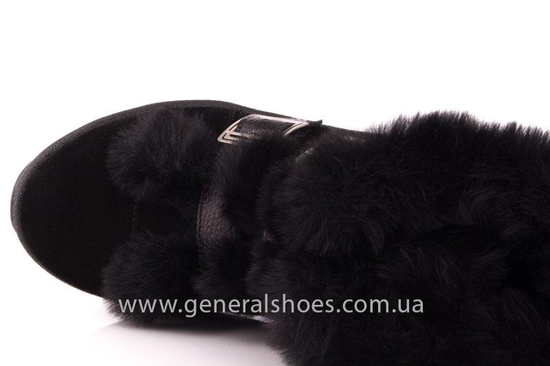 Зимние ботинки женские D 15 221 черный фото 6