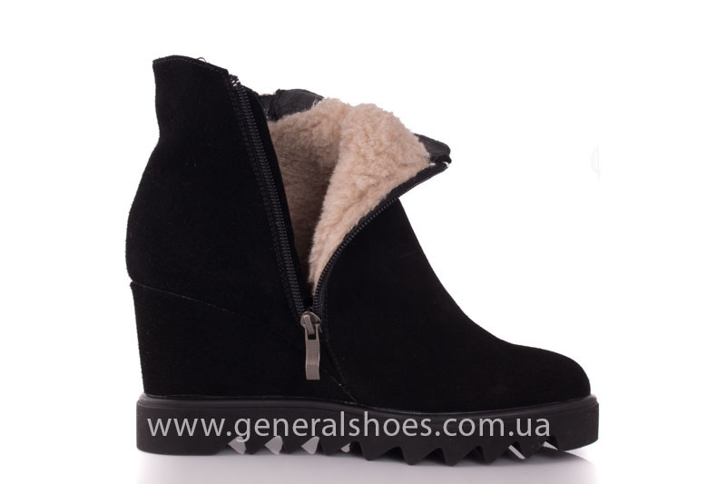 Зимние ботинки женские GL 12 черный фото 9