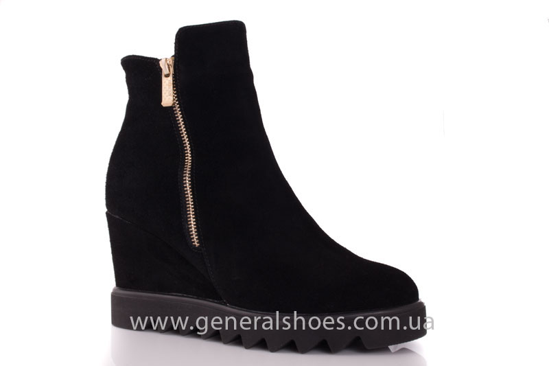 Зимние ботинки женские GL 12 черный фото 1