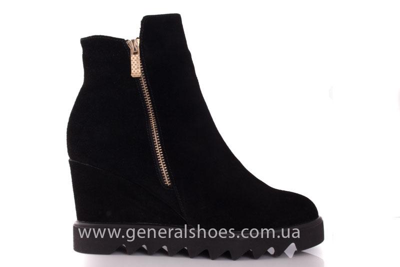 Зимние ботинки женские GL 12 черный фото 2