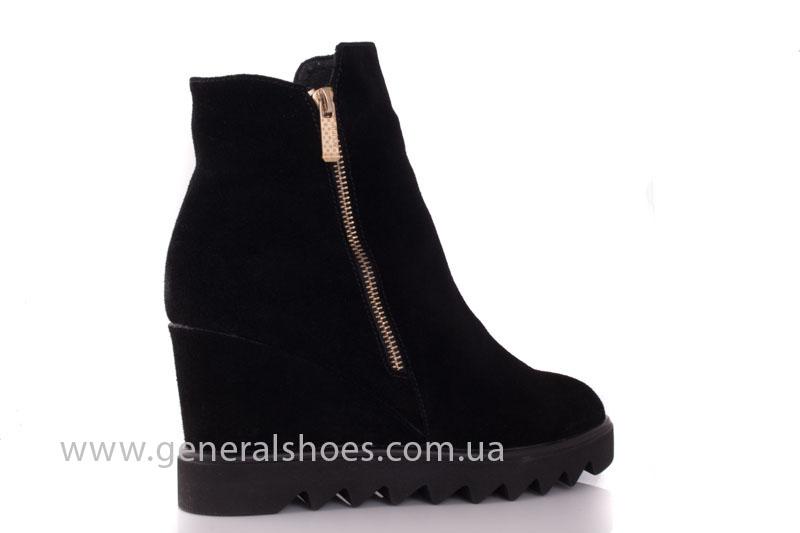 Зимние ботинки женские GL 12 черный фото 3