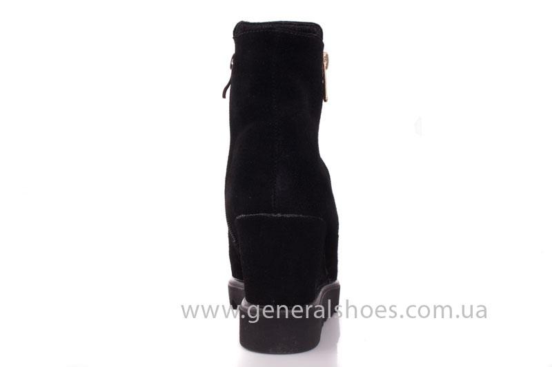 Зимние ботинки женские GL 12 черный фото 4