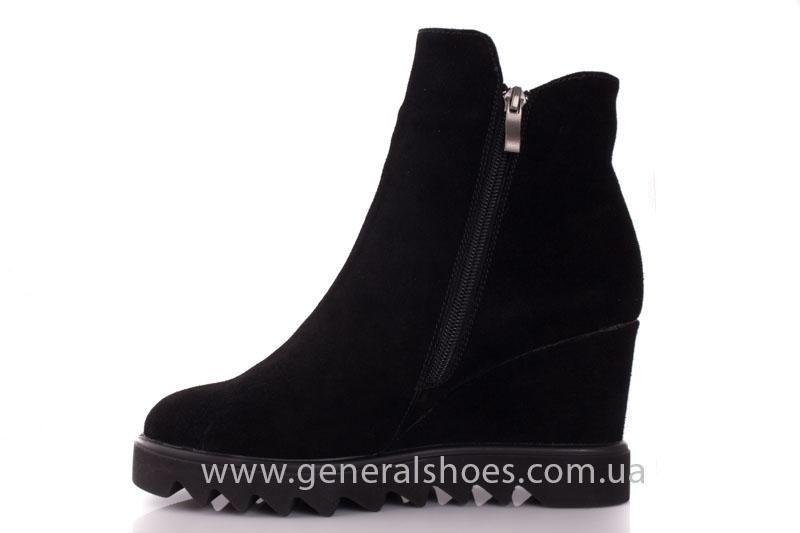 Зимние ботинки женские GL 12 черный фото 5