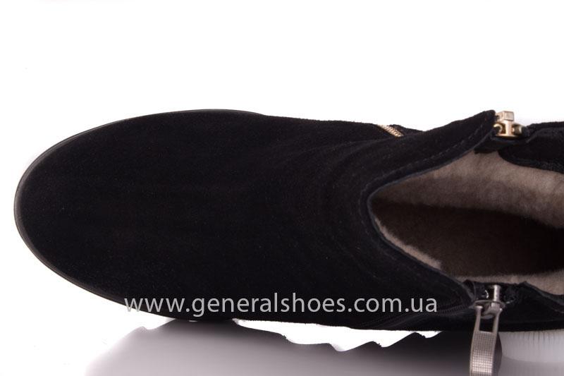 Зимние ботинки женские GL 12 черный фото 6
